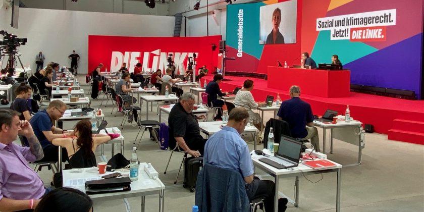 Die Linke – Parteitag 2021 @Reinbeckhallen